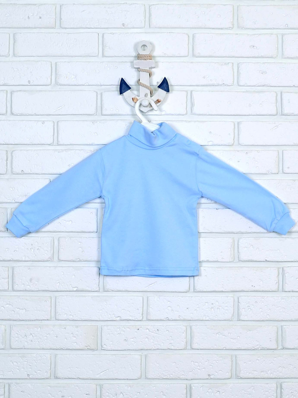 Гольф детский голубой 86