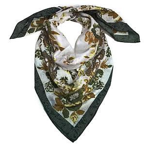 Платок Солнечные цветы, 95*95 см