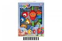 Набор игрушечный в ванну (коробка) CS010 (шт.)