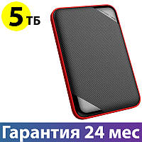 """Внешний жесткий диск 5 Тб/Tb Silicon Power Armor A62L, Black, 2.5"""", USB 3.1 (SP050TBPHD62LS3K)"""