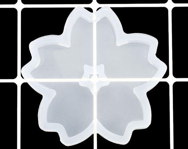 Силиконовый молд, форма, кулон, Цветок