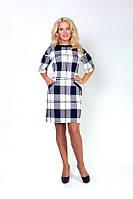Классическое женское платье по колено