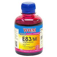 Чернила WWM для EPSON Stylus Photo R270/P50/R290/RX615/T50/TX650 (Magenta) E83/M 200г