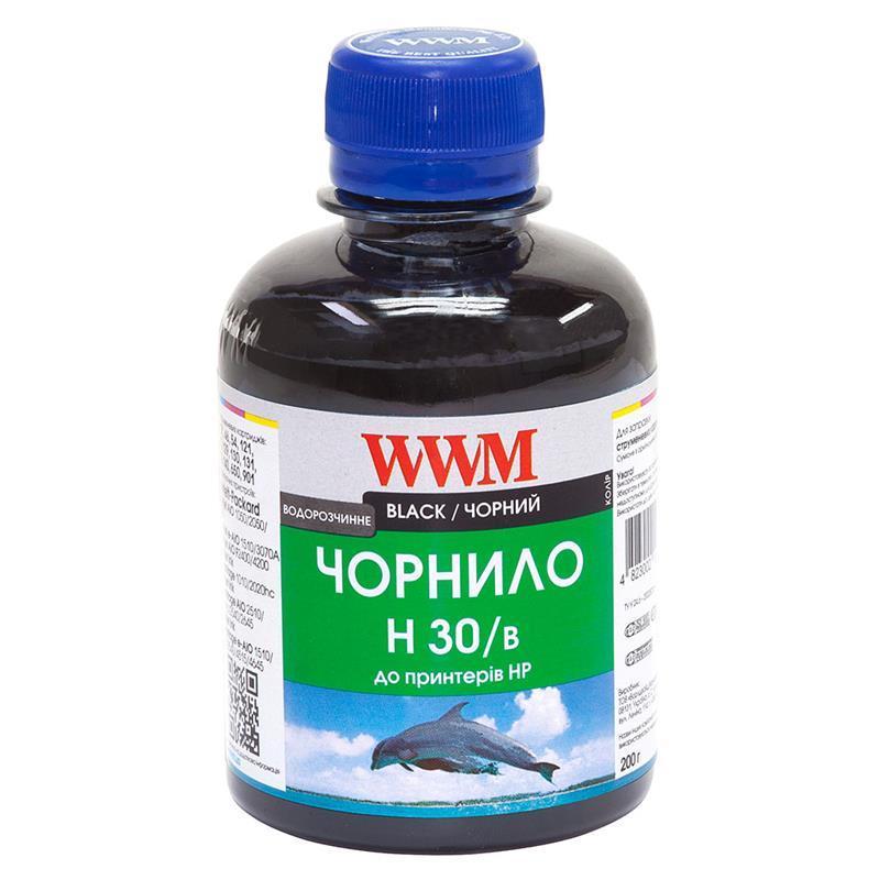Чернила WWM для HP №21/121/122 (Black) H30/B 200г