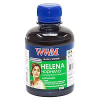 Чернила WWM HP Universal Helena для картриджей HP № 21,56,121,129,131,140,901 Black (HU/B) 200г