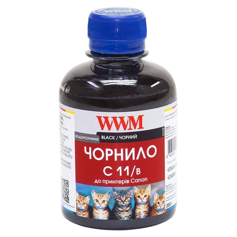 Чернила WWM Canon CLI-521B/CLI-426B (Black) (C11/B) 200г