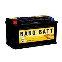 Аккумулятор NANO BATT Econom -100 +левый (800 пуск)