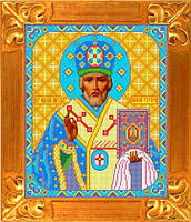 Схема для вышивки Св. Николай Чудотворец