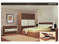 Кровать с ортопедическим каркасом Элегант с подъемным механизмом