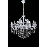 Люстра светильник в классическом стиле с хрустальными подвесками Splendid-Ray 30-3342-10