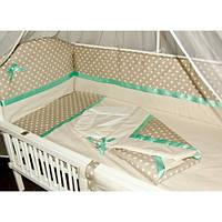 Детское постельное белье в кроватку (9  предметов), фото 1