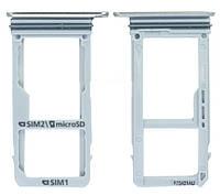 Сим держатель Samsung Galaxy A3 2017 SM-A320 (1 Sim) Gold