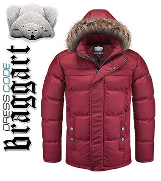 Зимние куртки мужские с мехом - Braggart 2015 - 2016
