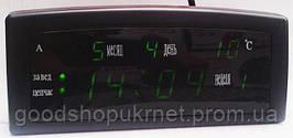 Часы CAIXING CX-909 с будильником, сетевые часы, часы календарь