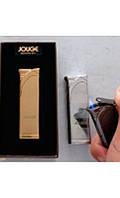 Необычный Практичный подарок другу Подарочная Зажигалка Турбо Jouge 3939 Аксессуар сигарет Газовая Зажигалка