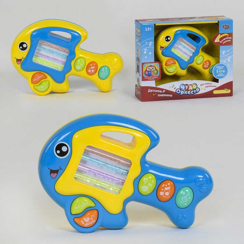 Музыкальная игрушка 7764 (36) Play Smart, 2 вида, подсветка, мелодии, звук, в коробке