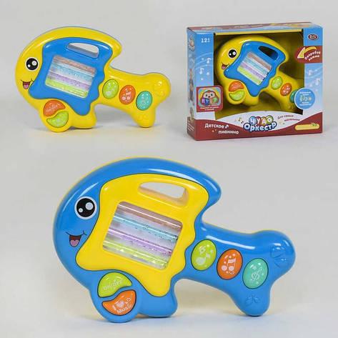 Музыкальная игрушка 7764 (36) Play Smart, 2 вида, подсветка, мелодии, звук, в коробке, фото 2