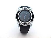 Смарт годинник V8 Smart Watch умные смарт часы с Bluetooth, серебро | AG510157