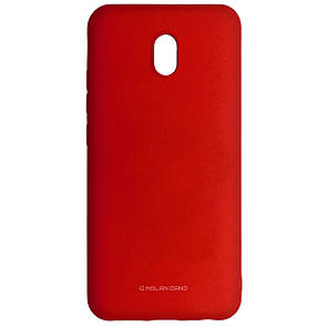 Чехол-накладка Silicone Hana Molan Cano для Xiaomi Redmi 8A (red)