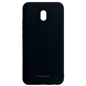 Чехол Silicone Hana Molan Cano Xiaomi Redmi 8A (black)