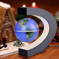 Магнитный левитационный плавающий географический глобус