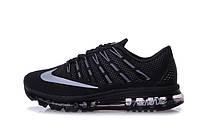 Мужские кроссовки Nike Air Max 2016 (Black), фото 1