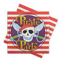 """Салфетки бумажные """"Пираты"""""""