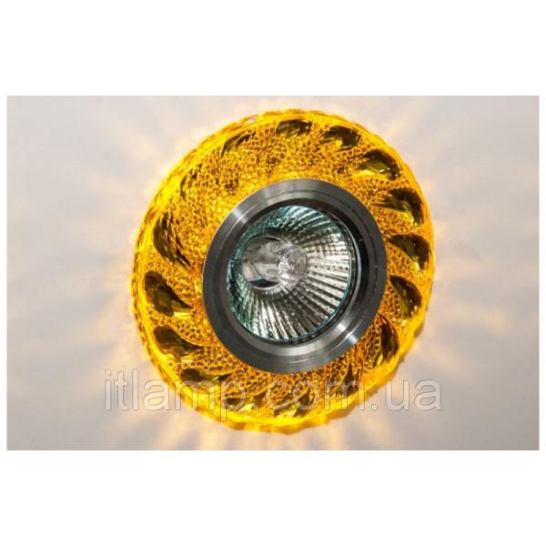 Врезной светильник LS 7029 Yellow Led