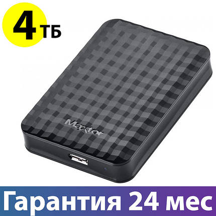 "Внешний жесткий диск 4 Тб Seagate (Maxtor), Black, 2.5"", USB 3.0 (STSHX-M401TCBM), фото 2"