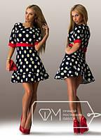"""Стильное молодежное платье мини """" Ромашки """" Gepur, фото 1"""