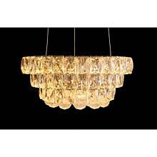 LED люстра со стразами круглая LS 2310/350