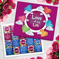 Подарочный шоколадный набор Love of my life 100 г, фото 1