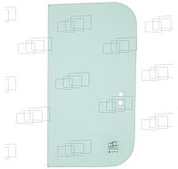 Стекло двери верхнее заднее экскаватора Hyundai R130LC-3, R160LC-3, R180LC-3