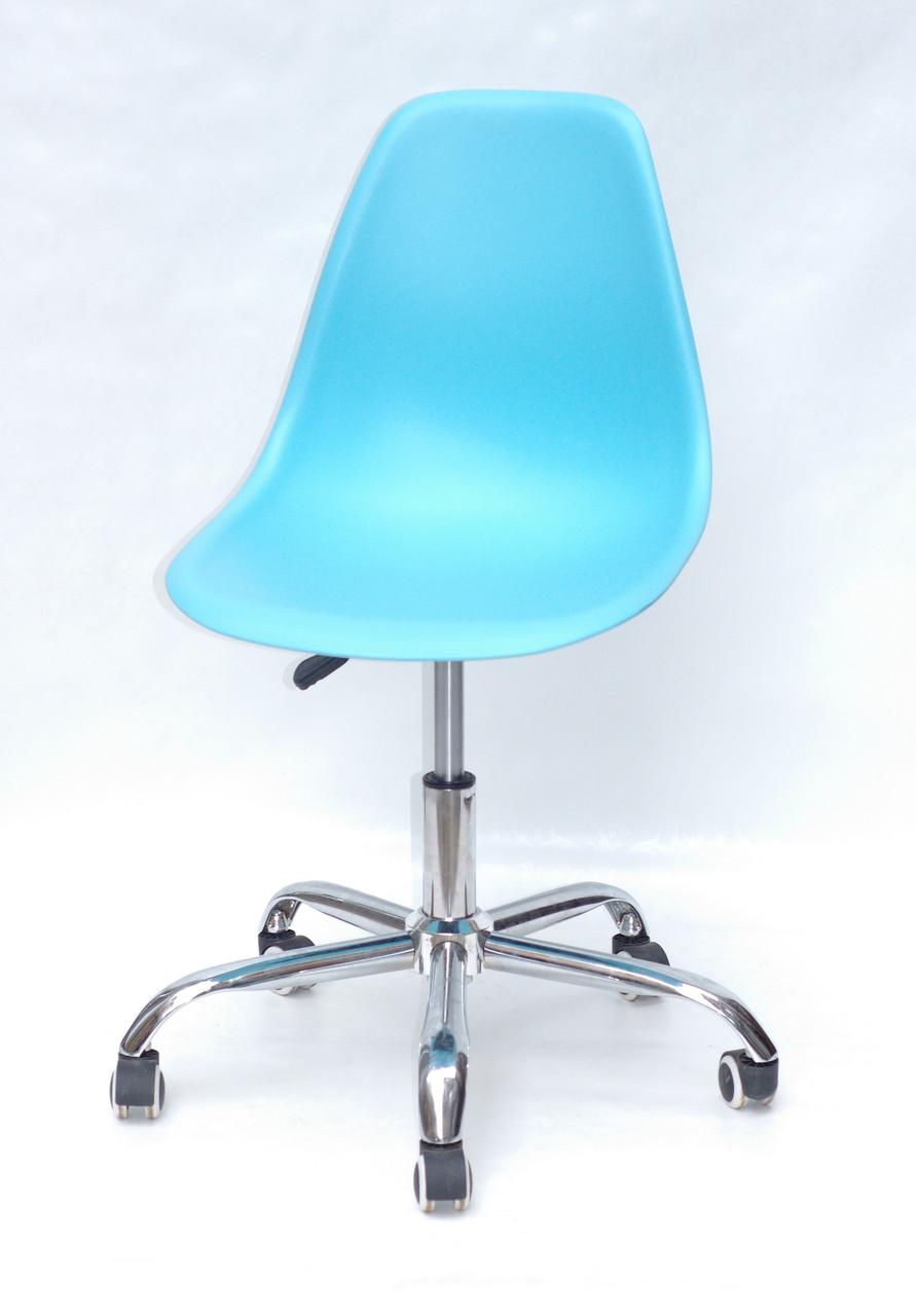 Кресло мастера Nik Office, голубой 52