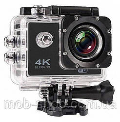 Туристическая подводная Экшн камера Action Camera S2 WiFi 4K (камера для съемки под водой и не только)