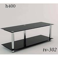 Тумбочка под телевизор стеклянная TV 302