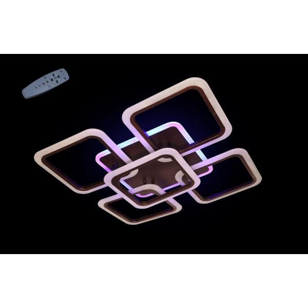 Люстры светодиодные LS 5588-4+1CF LED Dimmer