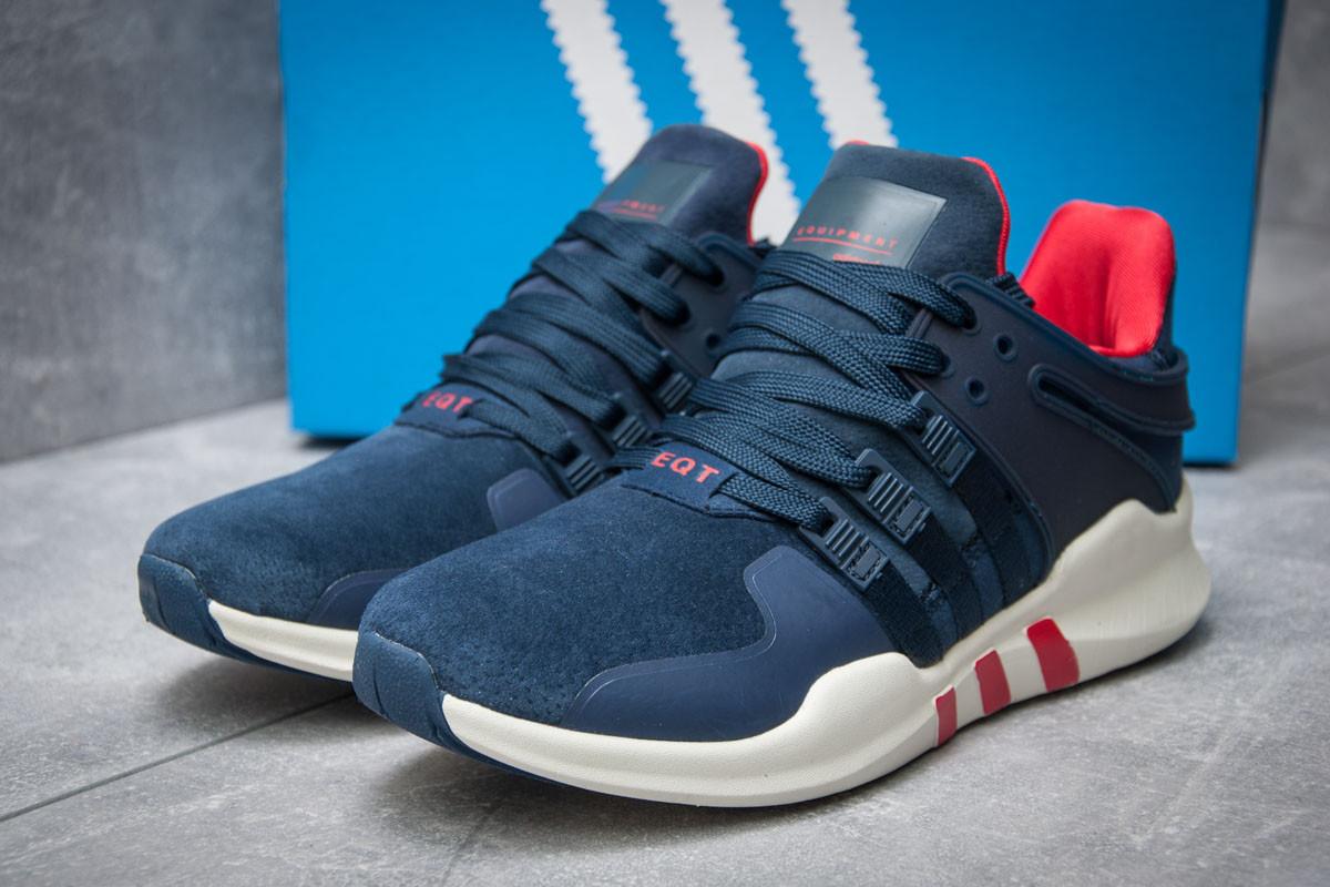 Кроссовки мужские 11992, Adidas  EQT ADV/91-16, темно-синие ( 43  )