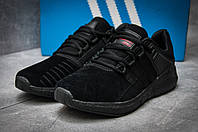 Кроссовки мужские Adidas  EQT ADV/91-17, черные (12164) размеры в наличии ► [  44 (последняя пара)  ], фото 1