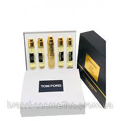 Подарочный набор мини парфюмов Tom Ford Oud Wood женский 5*11 мл