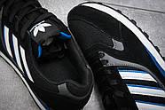 Кроссовки мужские 12424, Adidas  City, черные ( 41  ), фото 6