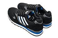 Кроссовки мужские 12424, Adidas  City, черные ( 41  ), фото 8