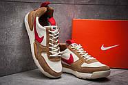 Кроссовки мужские 12584, Nike, коричневые ( 45  ), фото 3