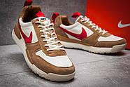 Кроссовки мужские 12584, Nike, коричневые ( 45  ), фото 5