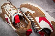 Кроссовки мужские 12584, Nike, коричневые ( 45  ), фото 6