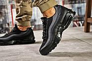 Кроссовки мужские 12762, Nike Aimax, черные ( 42 44  ), фото 4