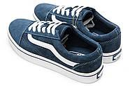 Кроссовки женские 12932, Vans Old Skool, темно-синие ( 37  ), фото 8