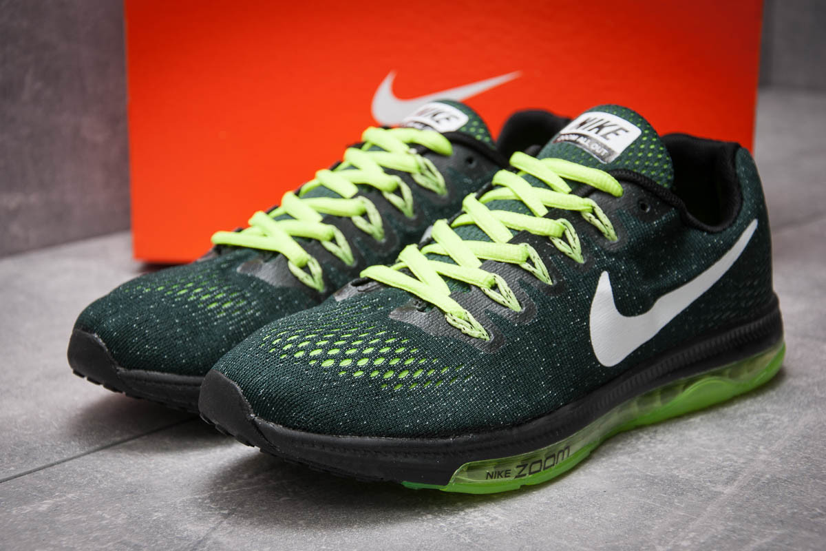 Кроссовки мужские 12965, Nike Zoom All Out, зеленые ( 43  )
