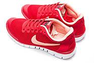 Кроссовки женские 12995, Nike Air Free 3.0, красные ( 37  ), фото 8