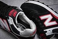 Кроссовки женские 13141, New Balance 574, черные ( 37 38  ), фото 6